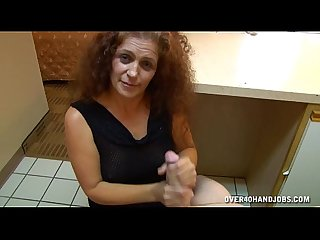 Mature Lady Handjob In A Hotel Room