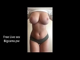 Big Boobs desi Girl naked on webcam