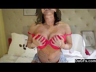 Dagfs keisha grey S natural tits bounce in sextape