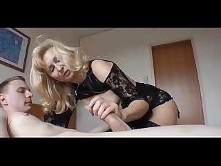 Young boy fucks very hot milf