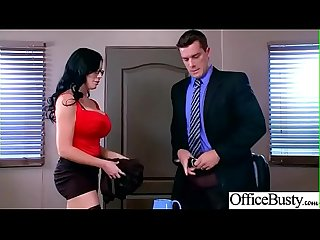 Big Melon Tits Girl (Sybil Stallone) Love hardcore Sex In Office video-29