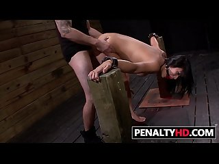 BDSM Humiliation For Cute Mia Li