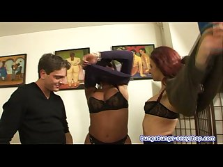 Threesome transsexual and guy fuck Alice ricci directed by roby bianchi