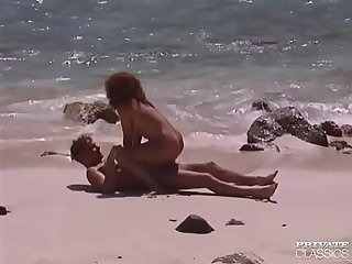 Erika bella comma busty redheaded fucking in a tropical beach