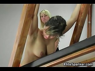 Sexy body great tits horny babe gets her