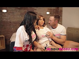 Mundial de placer Sex Dolls 2 Bianka Blue y Emilio Ardana Real Sex Dolls