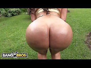 BANGBROS - Come Ye, Marvel At MILF Sandra Leon's Round, Latin BIG ASS.