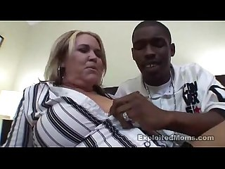BBW Mom takes a Big Black Cock in this Amateur Video