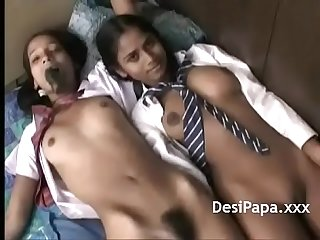 Desi Teen Sucking Sex Toy