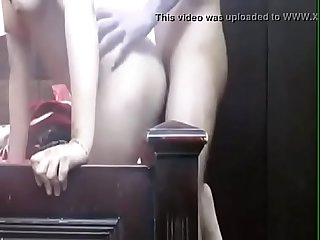 Sexy couple In Bedroom Seducing Each Other