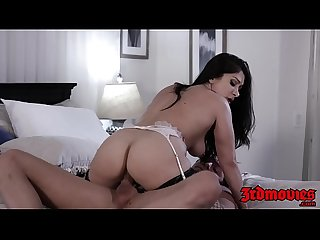 Slutty latina MILF fucked and creampied by young stud