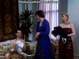 Bridgette Monet, Joey Silvera, Sharon Kane in vintage sex scene