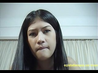Exclusive Scene Lin Filipino Amateur Teen Babe Shaved Pussy Funny Face When She