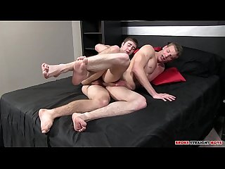 Brandon Beal Fucks Johnny Forza's Straight Boy Ass Raw full gay porn video free