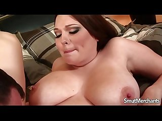 Busty girl gets fucked