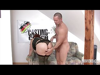Busty german mature hoe gets nailed at casting