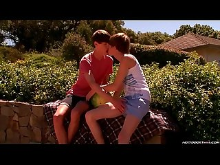 Hot twinks outdoor