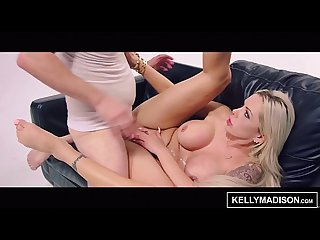 KELLY MADISON Bimbo MILF Nina Elle Covered in Jizz