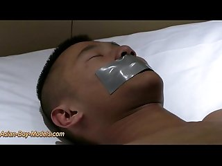Big Cock Asian Boy Bound Cum
