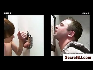 Straight guy fooled into a gay blowjob at gloryhole