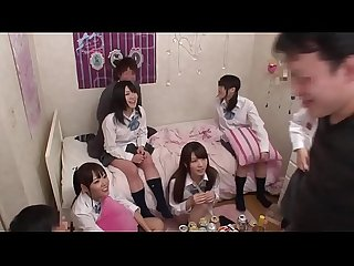 High-School Girl party turn into fuck party 2 (full video at..