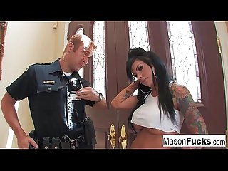 Mason Moore has to pay the price for trying to disobey Officer Lawrence. And boy,..