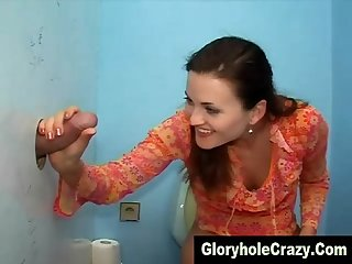 Glory hole real amateur blow job