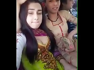 Desi Girl Showing Her boobs with her friend patner