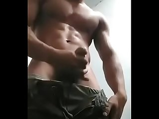 Asian boy jerk off
