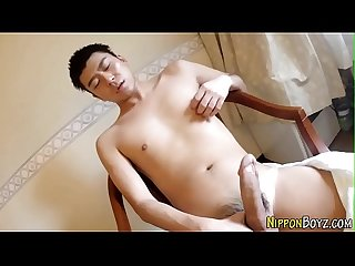 Straight asian solo cums