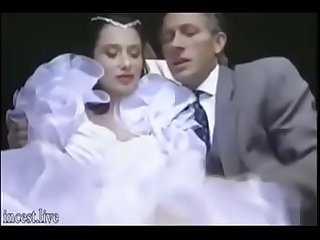 Italian Daughter has Sex with Dad Before Mariage