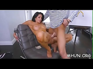 Nasty mother i'd like to fuck gets punished