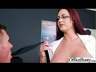 Hot Sex In Office With Big Round Boobs Girl (Emma Butt) video-08